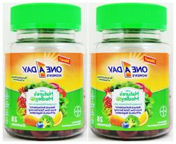 2pk One A Day Women's with Nature's Medley Multivitamins 28