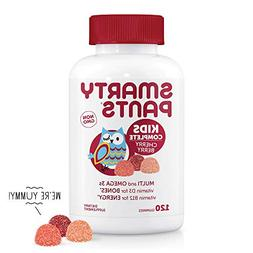 SmartyPants Kids Complete Cherry Berry Daily Gummy Vitamins: