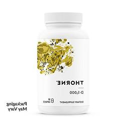 Thorne Research D-5,000 Dietary Supplement - 60 Capsules