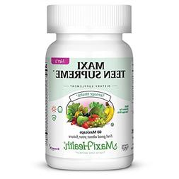 Maxi Health Teen Supreme - Hers - Advanced Multivitamins For