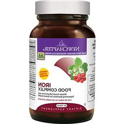 New Chapter Iron Supplement - Iron Food Complex with Organic