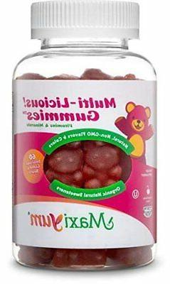 Maxi-Health Multi-Licious! Gummy Vitamins for Adults  Chewab