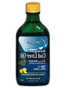 Carlson Cod Liver Oil, Norwegian, Lemon, 1,100 mg Omega-3s,