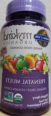 Garden of Life Prenatal Multi Vitamin Organic Berry Diet Sup