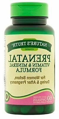 Nature's Truth Prenatal Vitamin & Mineral Formula, 60 ea