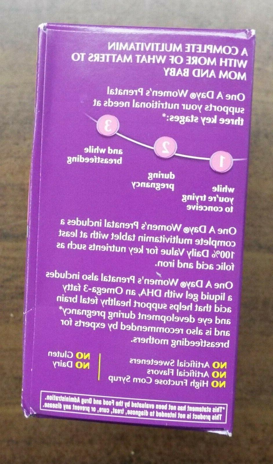One A Day Prenatal 60+60 120 NEW Sealed