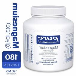 Pure Encapsulations Magnesium Glycinate Supports Enzymatic F