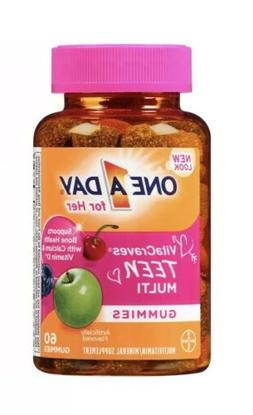 Bayer One A Day Teen for Her VitaCraves Multivitamin/Mineral