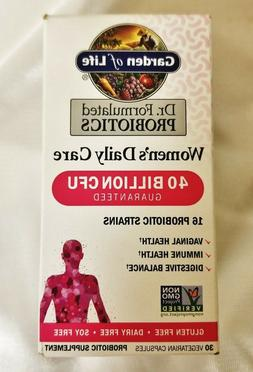 Garden of Life Probiotics Women's Daily Care 40 Billion CFU