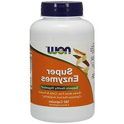 NOW Foods Super Enzymes, 540 Capsules